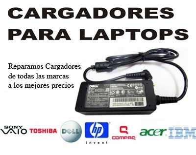 reparacion de cargadores de laptops en Guatemala